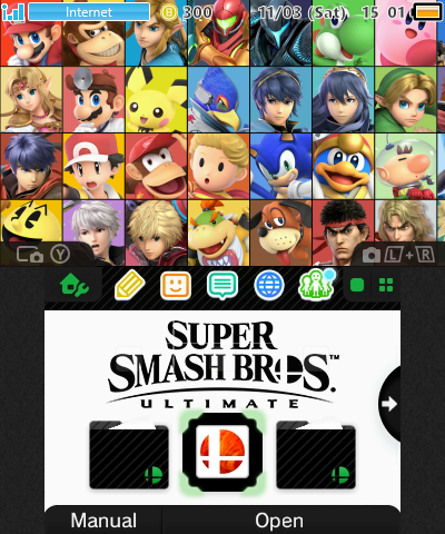 Smash Bros. Ultimate: The Heroes