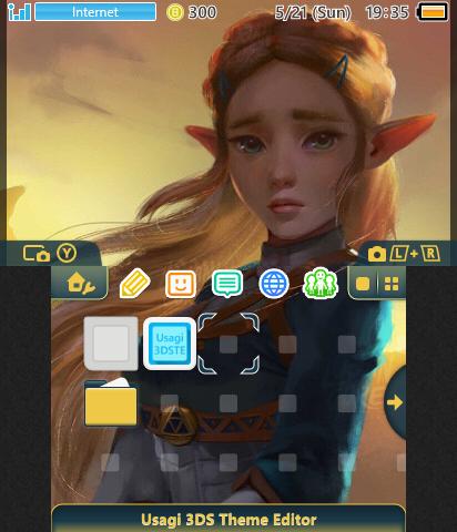 Legend of Zelda - BotW Zelda | Theme Plaza