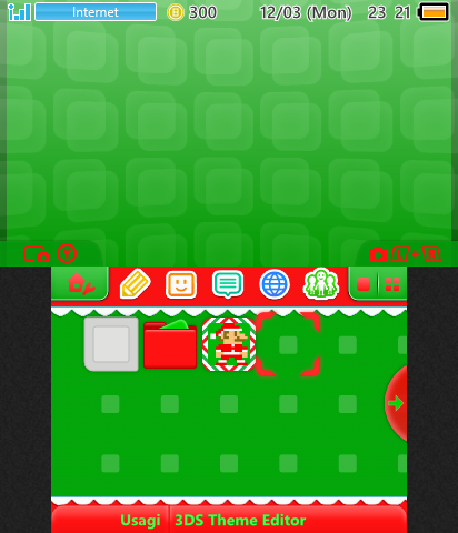 Red and Green Xmas Theme