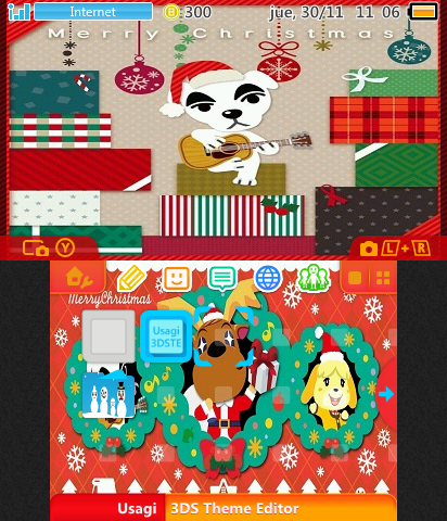 animal crossing merry christmas