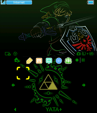 LoZ Triforce of Courage