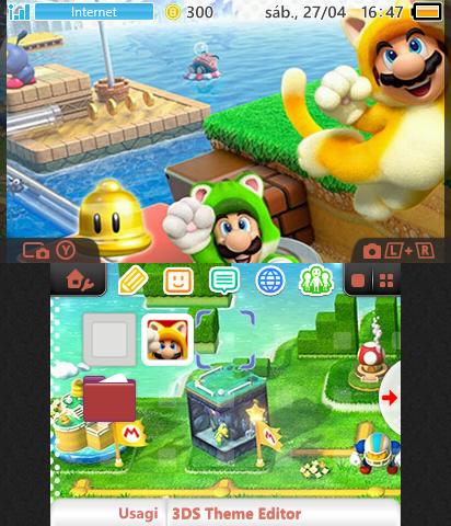 Super Mario 3D World   Theme Plaza