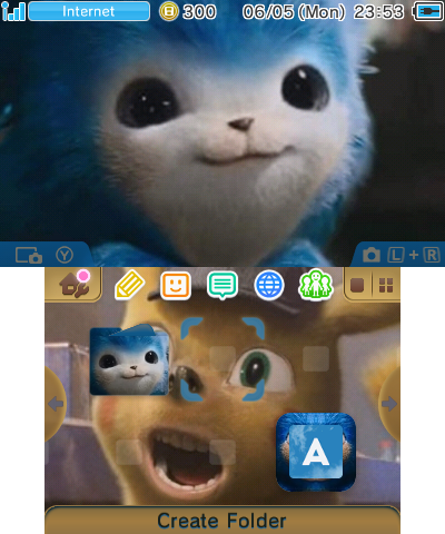 Sonic and Det. Pikachu Face Swap