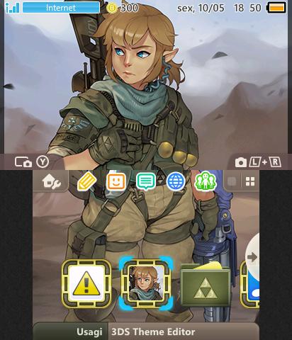 Zelda Sword Art Online 3 - Link | Theme Plaza