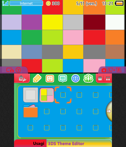 colors rectangles