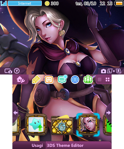 Overwatch Mercy Halloween | Theme Plaza