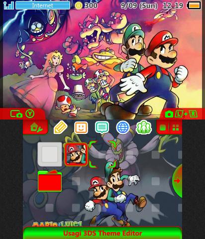 Mario And Luigi Superstar Saga Theme Plaza