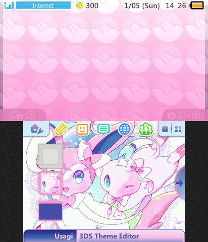 Sylveon and Mew Theme