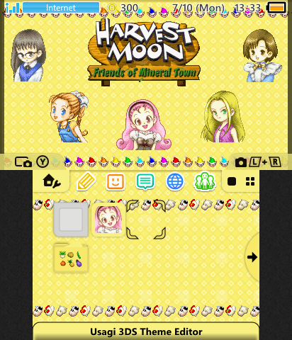 Friends Of Mineral Town Girls Theme Plaza