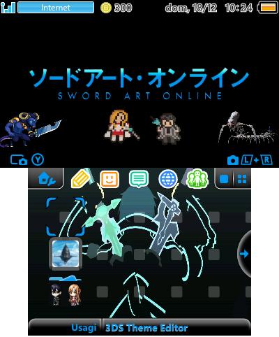 Sword Art Online 8-bit   Theme Plaza