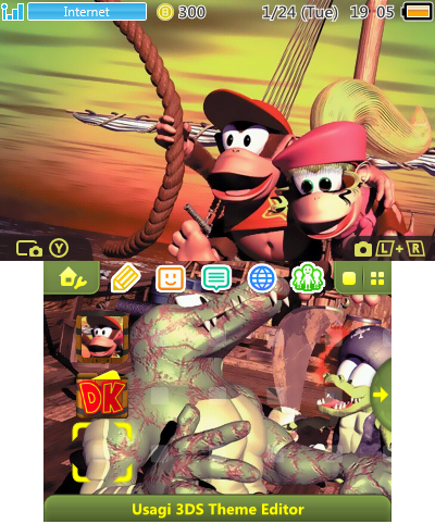 DKC2 - Bash the Baddies!