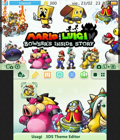 Mario Luigi Bowser S Inside S Theme Plaza