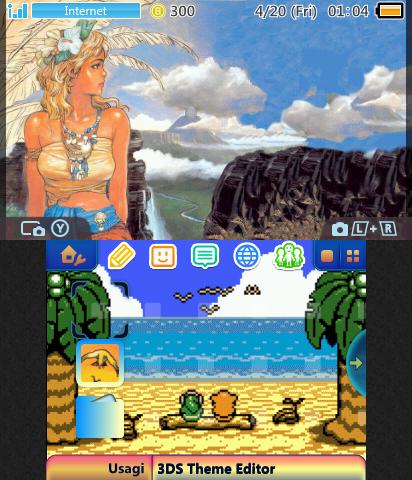 Zelda Link S Awakening Marin V2 Theme Plaza