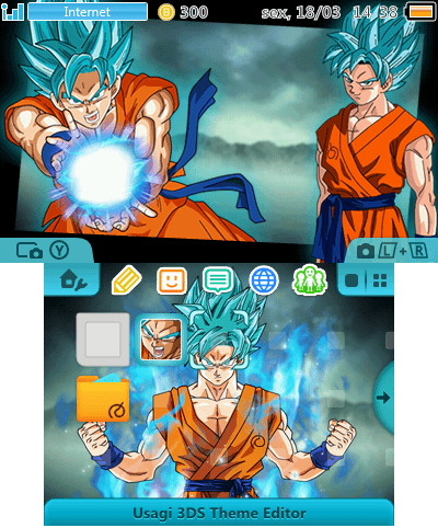 Dragon Ball Super Goku SSJ Blue