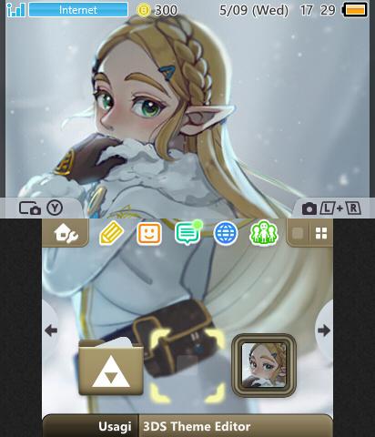 BotW - Winter Zelda | Theme Plaza