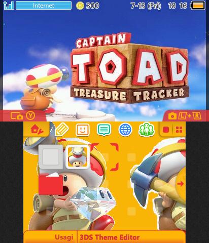 Captain Toad & CIA QR Code | Theme Plaza