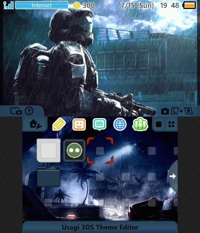 Halo 3: ODST - Rookie   Theme Plaza