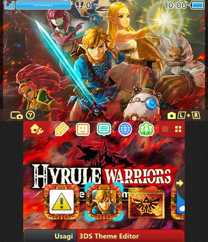 Hyrule Warriors Age Of Calamity Theme Plaza